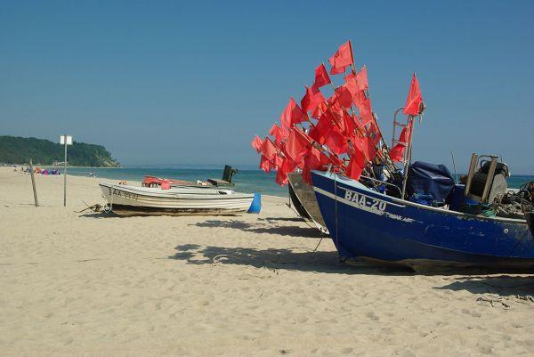 Plaża w okolicach Sellin