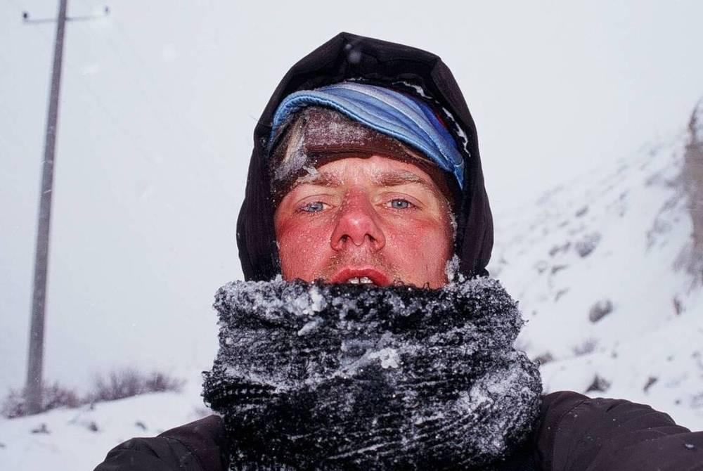 Rowerem zimą przez Himalaje