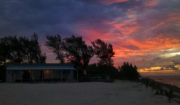 Zachód słońca- Grand Cayman