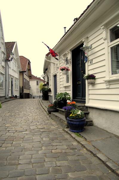 Stara część Stavanger - Gamle