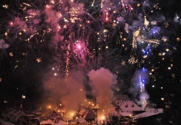 Huczne świętowanie zakończenia festiwalu.