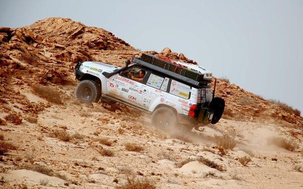 Offroadowo na Saharze Zachodniej