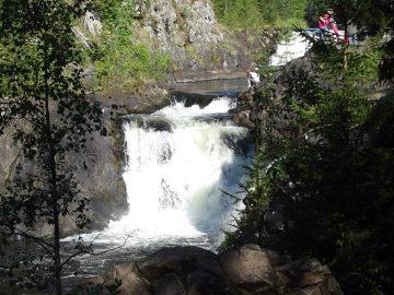 Wodospad Kiwacz, Rosja