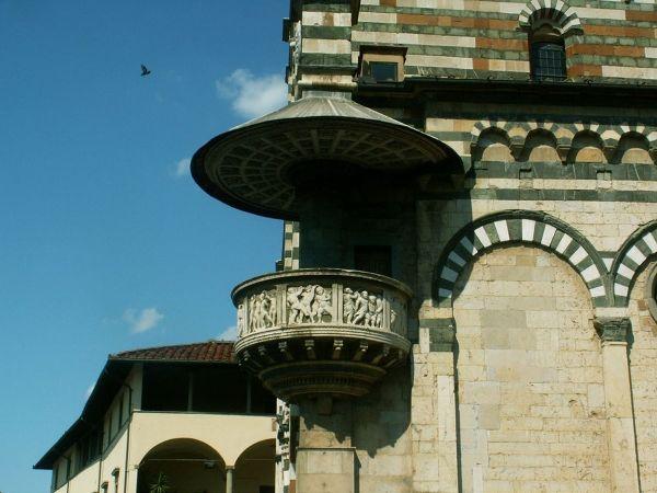 Katedra św. Szczepana, jeden z najstarszych kościołów w Prato, początkami sięgający X wieku