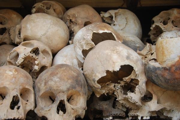 Phonm Penh  - pozostałości po rządach Pol Pota