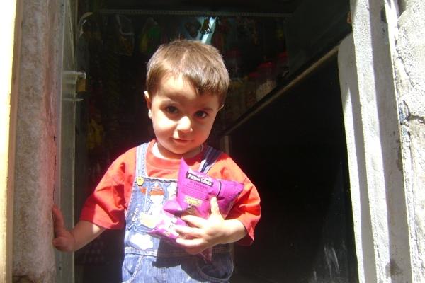 Syn sprzedawcy sklepiku w Mardin