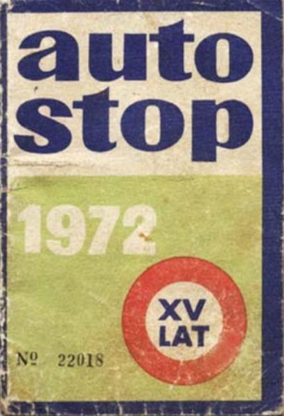 Przepustka do autostopu w PRL – książeczka autostopowicza