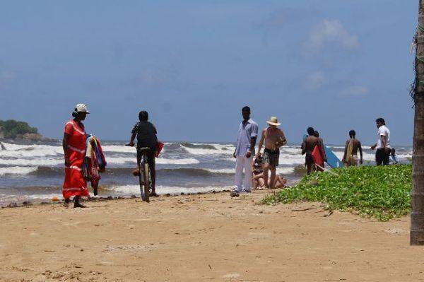Plaża w Beruwala