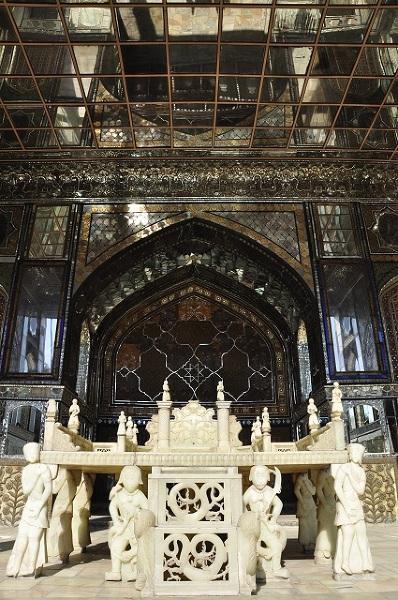 Tron w pałacu Golestan